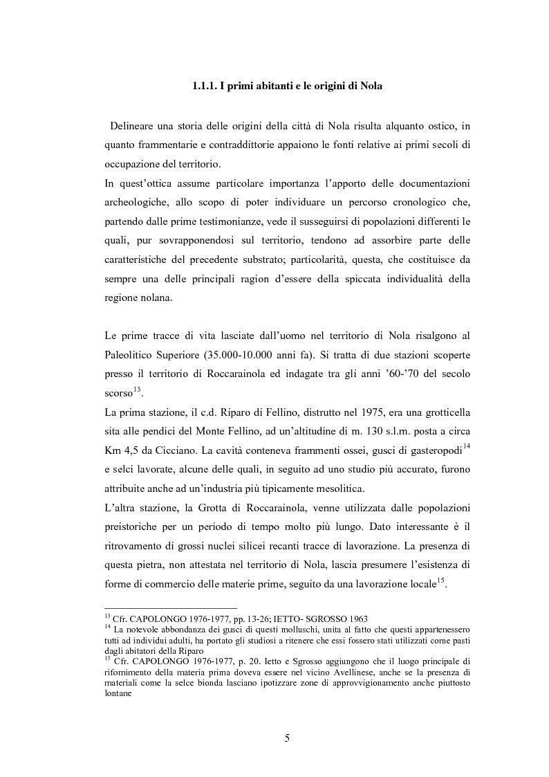 Anteprima della tesi: Il Museo Storico Archeologico di Nola: Analisi e Valorizzazione di una Istituzione, Pagina 8
