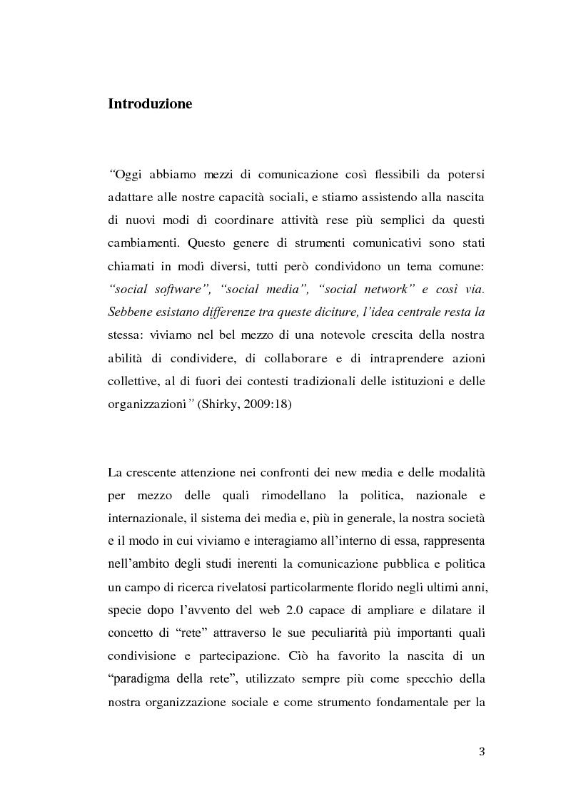 Anteprima della tesi: La rivolta tunisina e i nuovi media: un caso di indagine qualitativa., Pagina 2