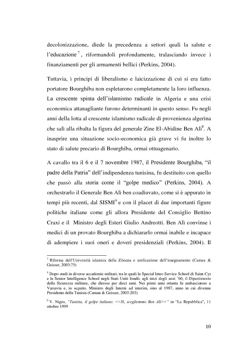 Anteprima della tesi: La rivolta tunisina e i nuovi media: un caso di indagine qualitativa., Pagina 9