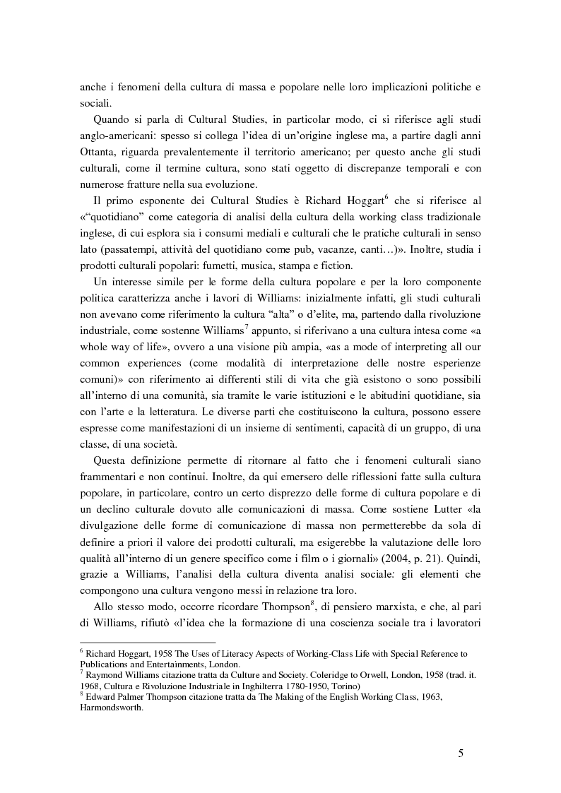 Anteprima della tesi: Cultural studies, subcultures e popular music: Bruce Springsteen e gli U2, Pagina 9