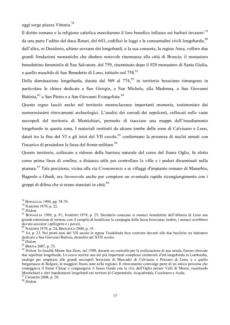 Anteprima della tesi: La pieve di San Pancrazio di Montichiari, Pagina 10