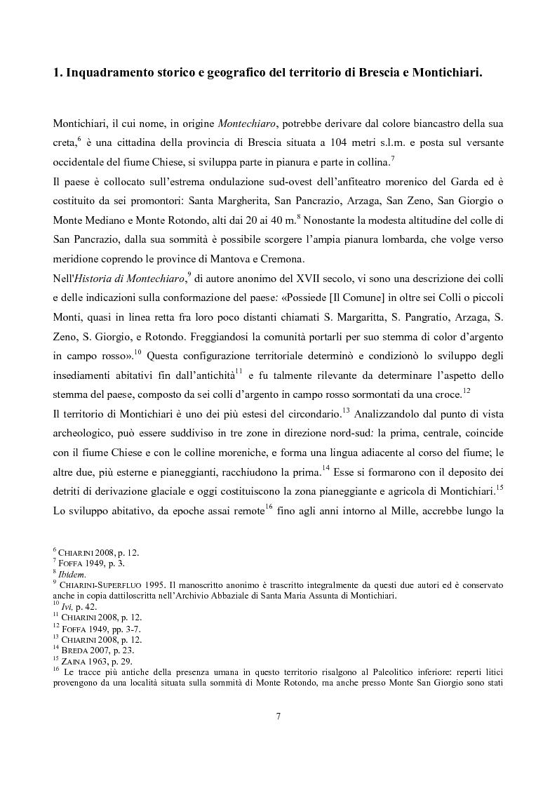 Anteprima della tesi: La pieve di San Pancrazio di Montichiari, Pagina 2