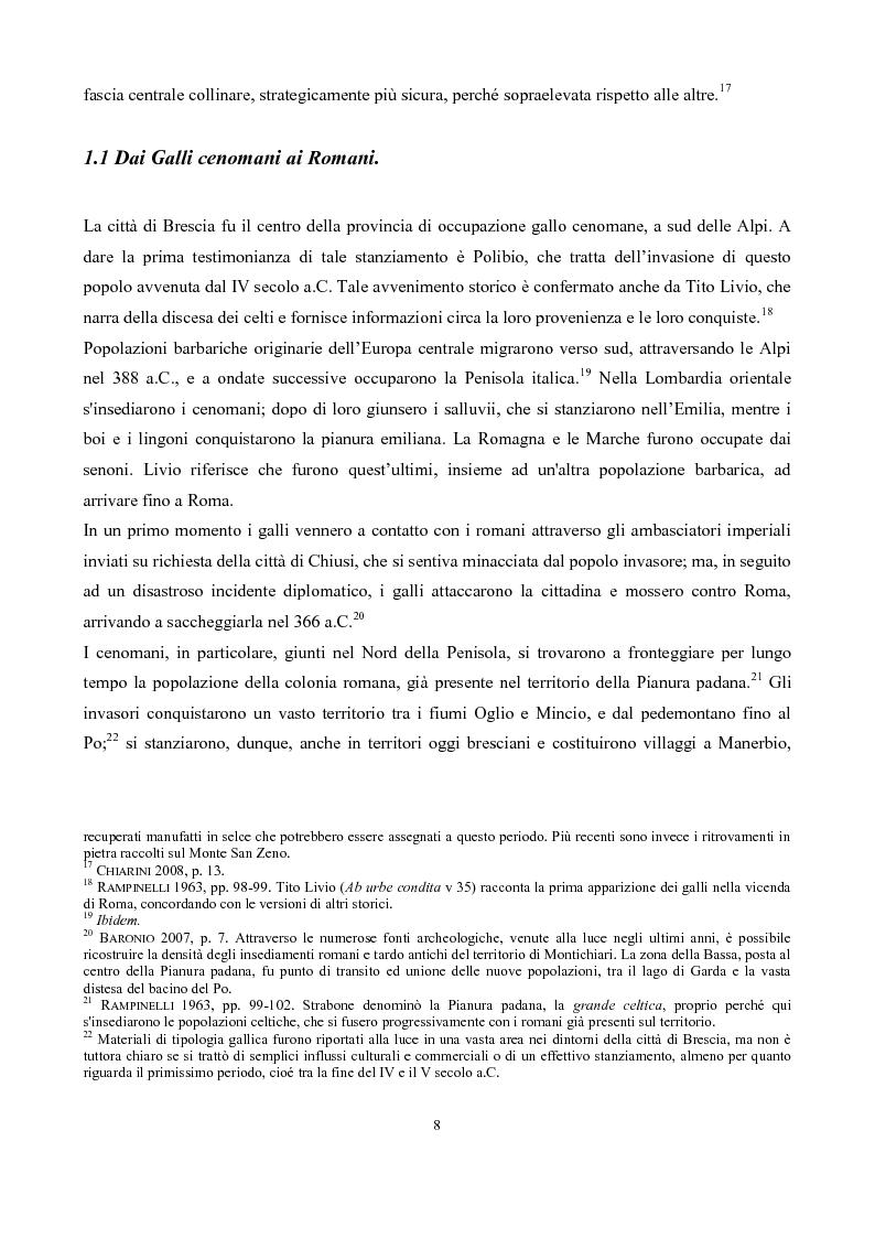 Anteprima della tesi: La pieve di San Pancrazio di Montichiari, Pagina 3