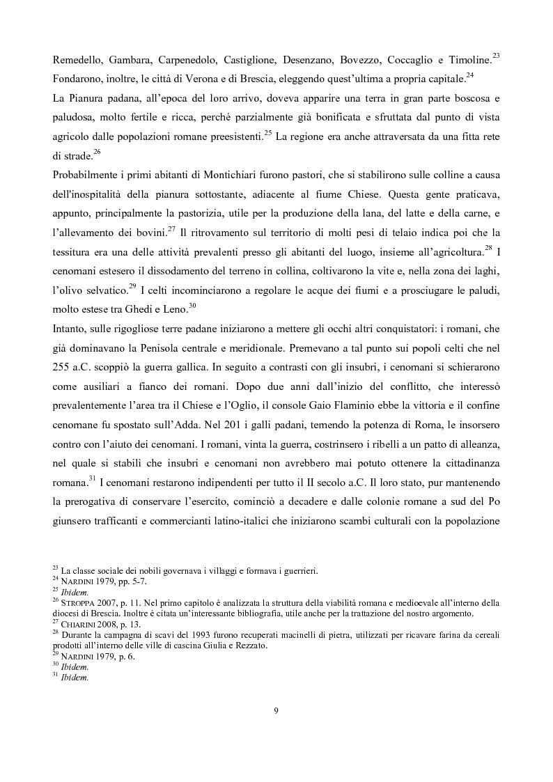 Anteprima della tesi: La pieve di San Pancrazio di Montichiari, Pagina 4