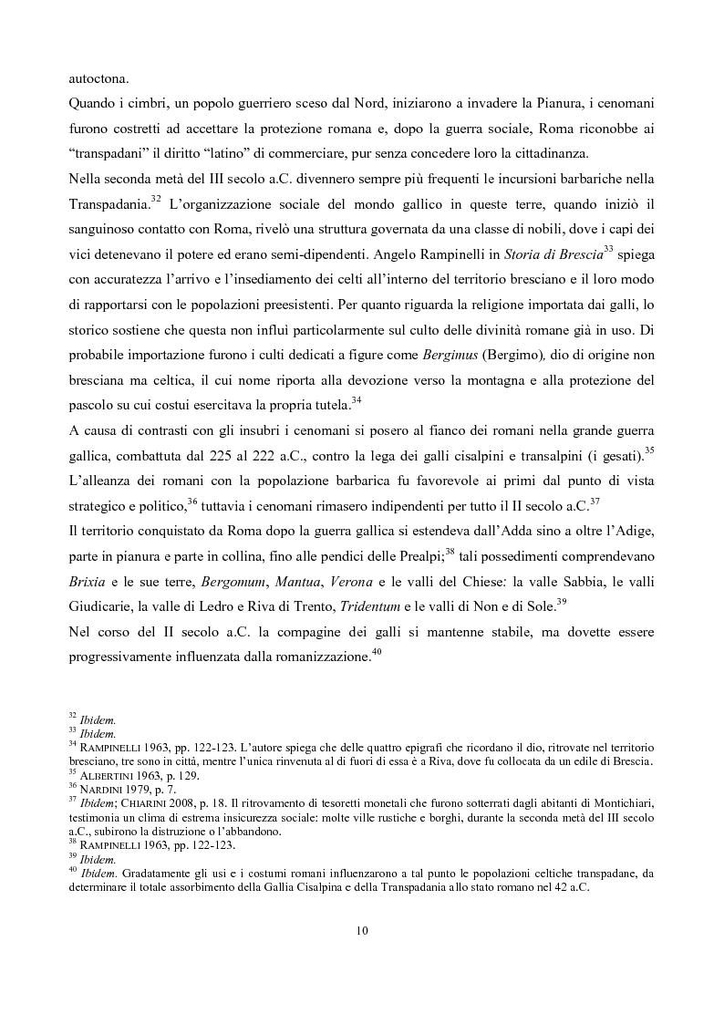 Anteprima della tesi: La pieve di San Pancrazio di Montichiari, Pagina 5