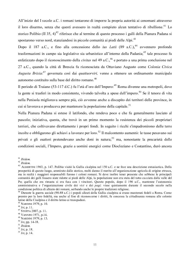 Anteprima della tesi: La pieve di San Pancrazio di Montichiari, Pagina 6