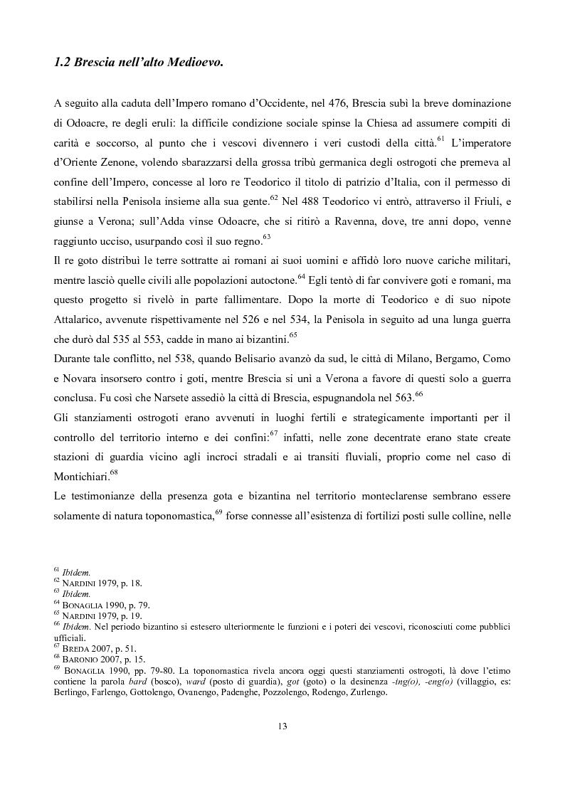 Anteprima della tesi: La pieve di San Pancrazio di Montichiari, Pagina 8