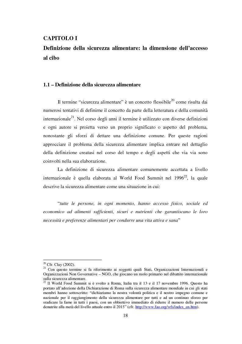 Anteprima della tesi: La sicurezza alimentare attraverso l'orticoltura: il caso dello scalogno Dogon in Mali, Pagina 11
