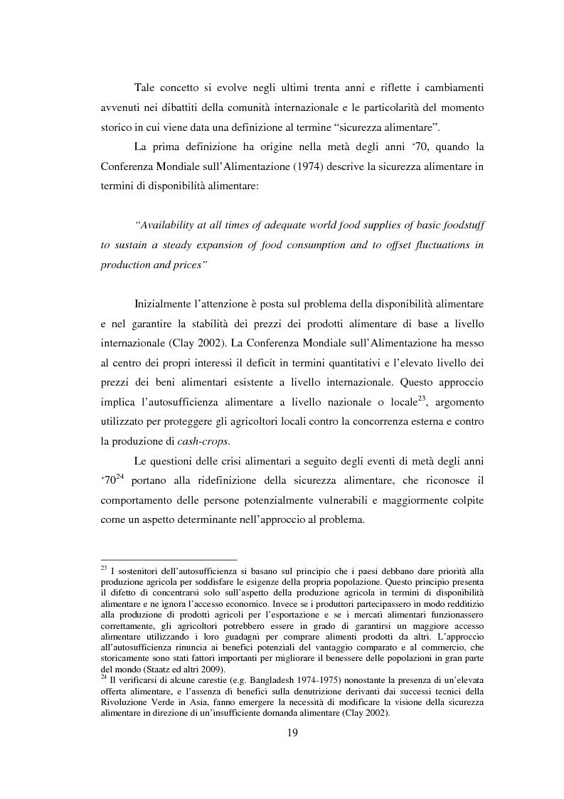 Anteprima della tesi: La sicurezza alimentare attraverso l'orticoltura: il caso dello scalogno Dogon in Mali, Pagina 12