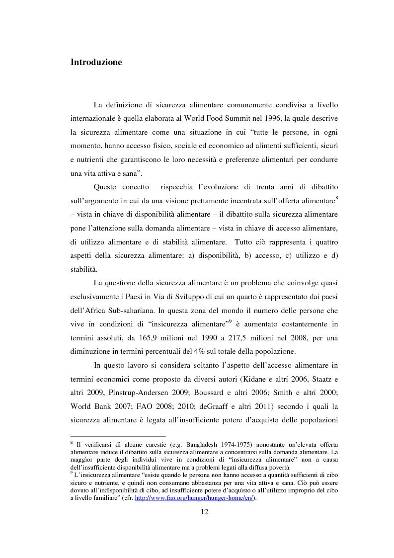 Anteprima della tesi: La sicurezza alimentare attraverso l'orticoltura: il caso dello scalogno Dogon in Mali, Pagina 5
