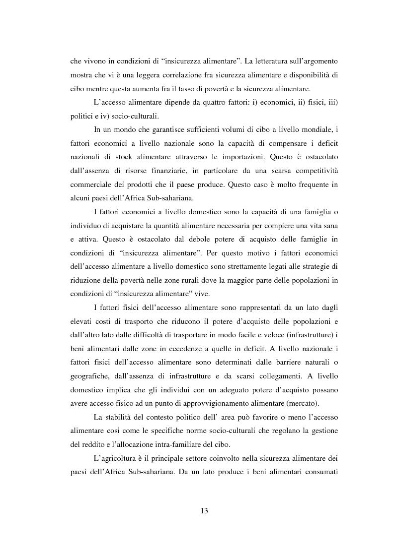 Anteprima della tesi: La sicurezza alimentare attraverso l'orticoltura: il caso dello scalogno Dogon in Mali, Pagina 6