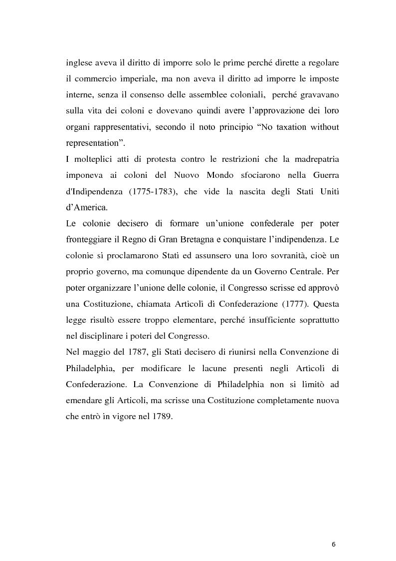 Anteprima della tesi: Secondo emendamento e porto d'armi negli Stati Uniti: un diritto discusso, Pagina 5