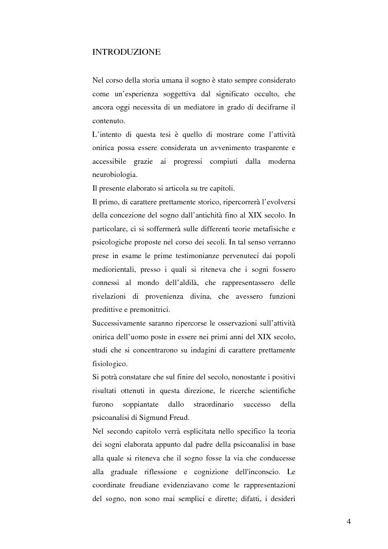 Anteprima della tesi: Il cervello e i sogni, Pagina 2