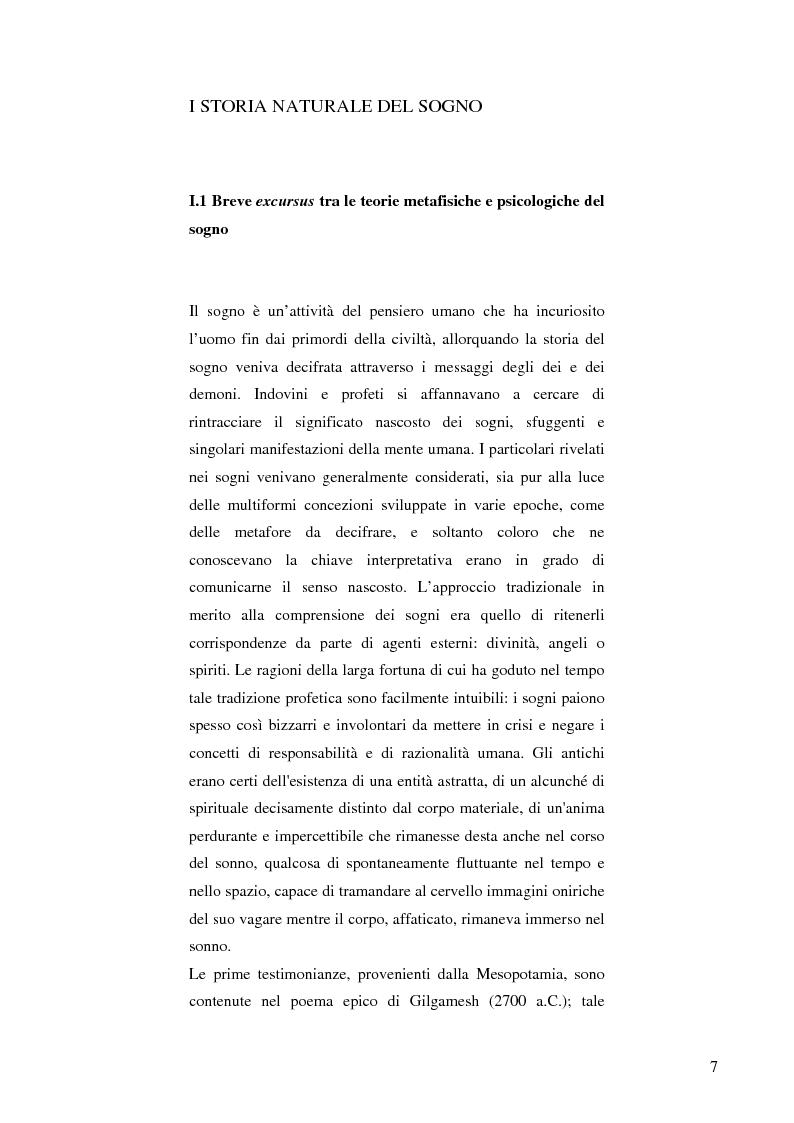 Anteprima della tesi: Il cervello e i sogni, Pagina 5