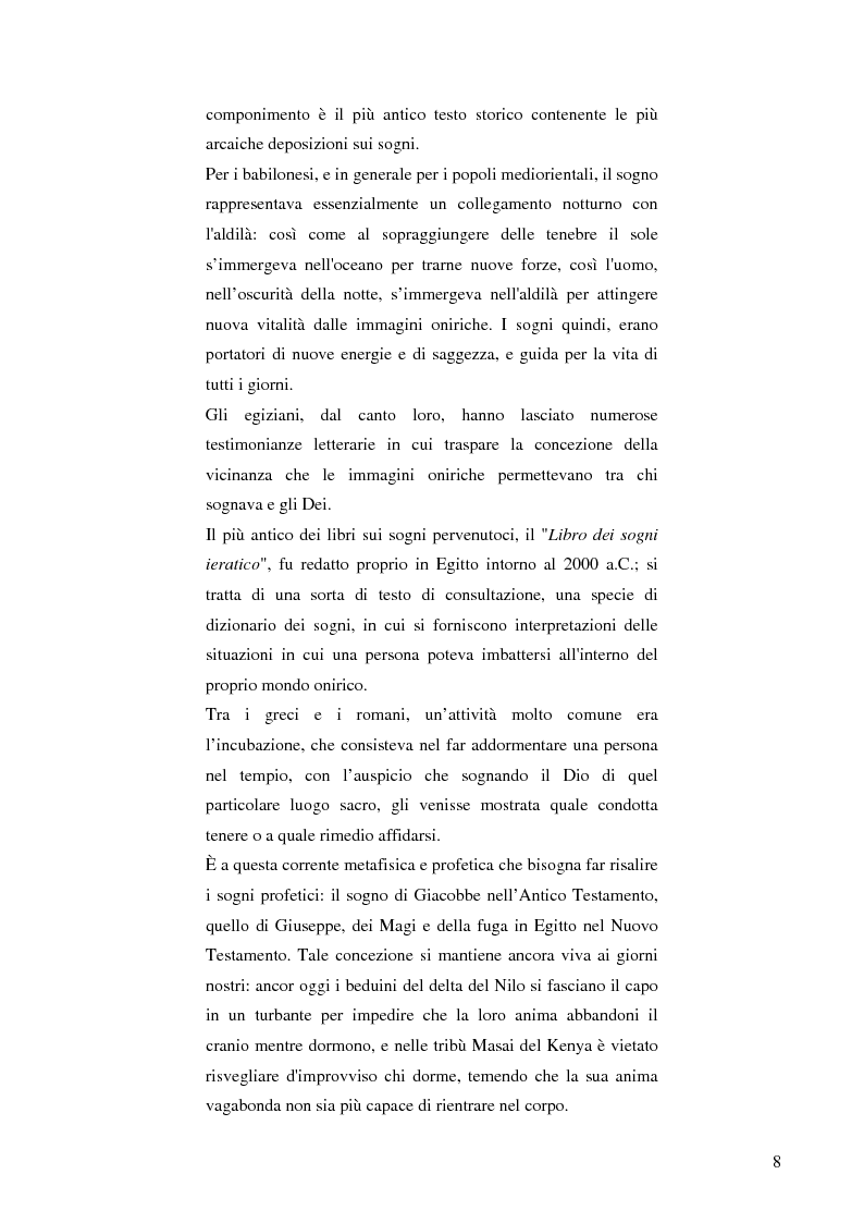 Anteprima della tesi: Il cervello e i sogni, Pagina 6