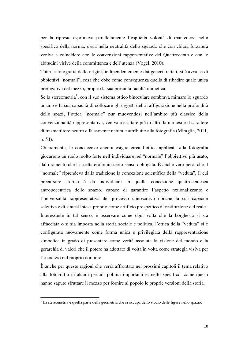 Anteprima della tesi: Identità fotografiche: processi di costruzione della realtà attraverso l'immagine, Pagina 14