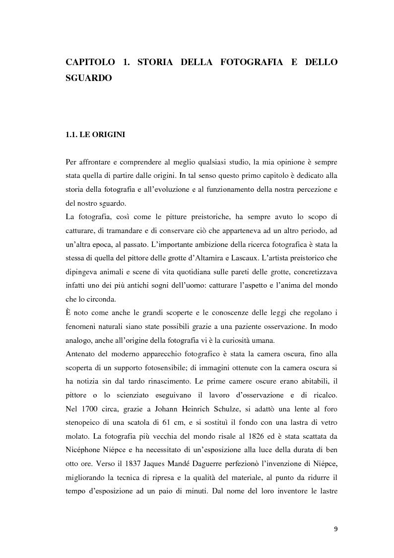 Anteprima della tesi: Identità fotografiche: processi di costruzione della realtà attraverso l'immagine, Pagina 5