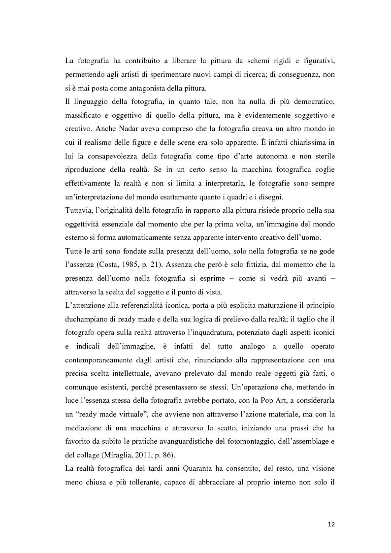 Anteprima della tesi: Identità fotografiche: processi di costruzione della realtà attraverso l'immagine, Pagina 8