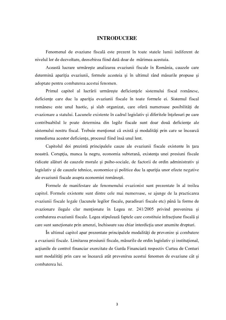 Anteprima della tesi: Evaziunea fiscala in Romania, Pagina 2