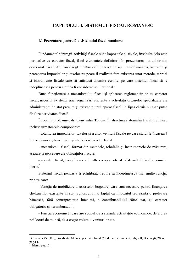Anteprima della tesi: Evaziunea fiscala in Romania, Pagina 3