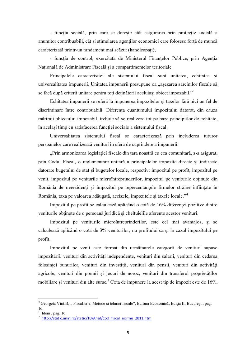 Anteprima della tesi: Evaziunea fiscala in Romania, Pagina 4