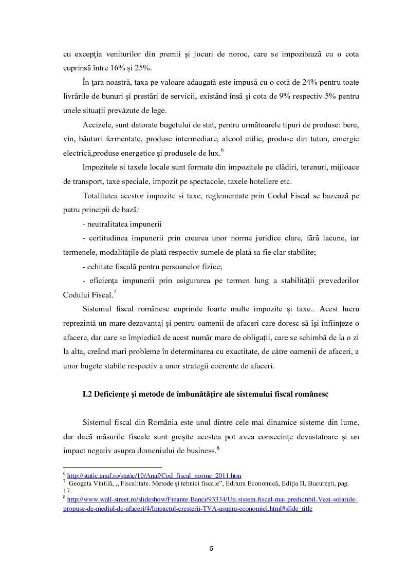 Anteprima della tesi: Evaziunea fiscala in Romania, Pagina 5