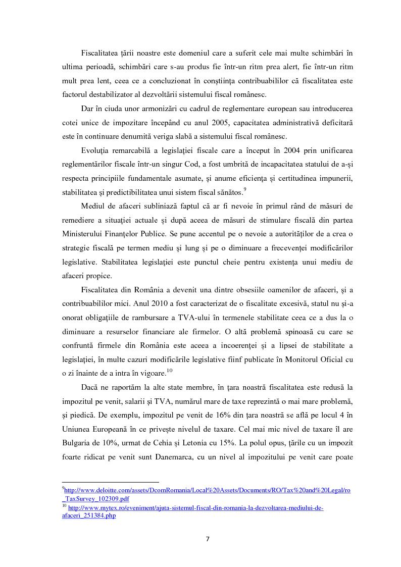 Anteprima della tesi: Evaziunea fiscala in Romania, Pagina 6