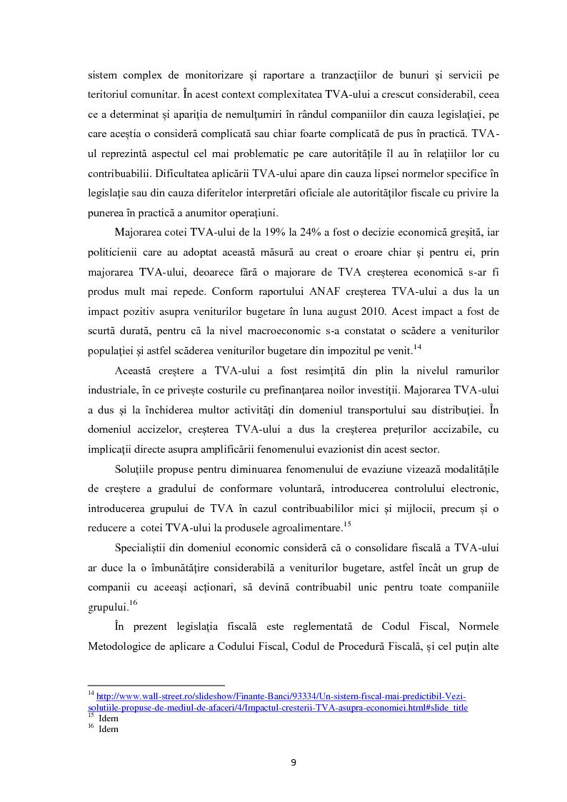 Anteprima della tesi: Evaziunea fiscala in Romania, Pagina 8