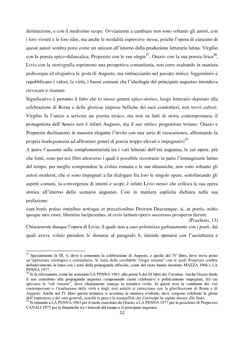 Anteprima della tesi: Livio e i mores della fondazione, Pagina 10