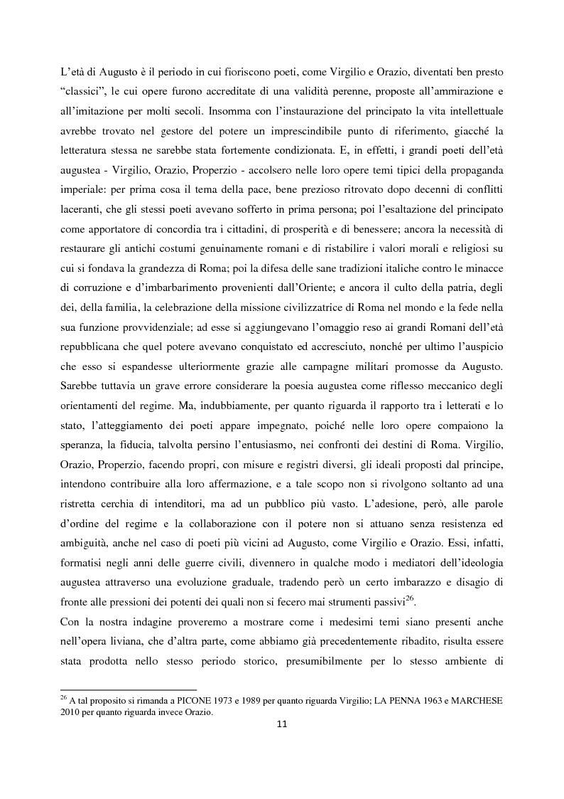 Anteprima della tesi: Livio e i mores della fondazione, Pagina 9