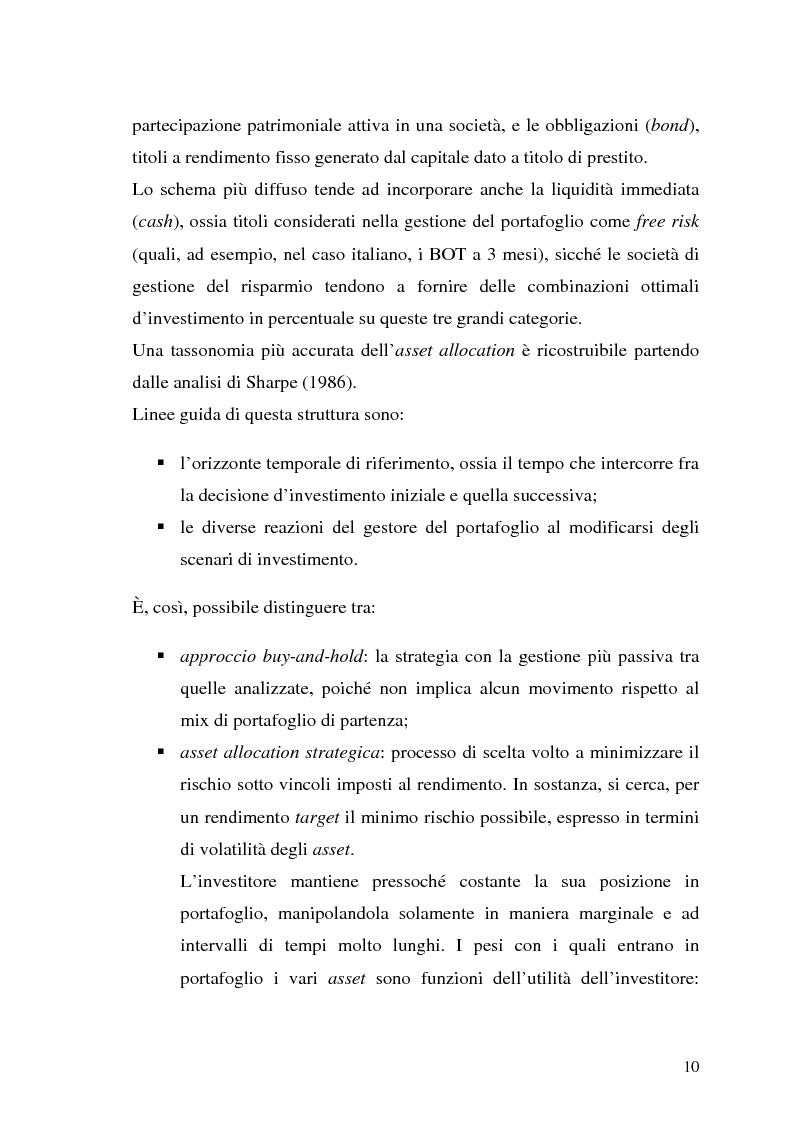 Anteprima della tesi: Il modello di Black & Litterman nel processo di ottimizzazione di portafoglio, Pagina 3