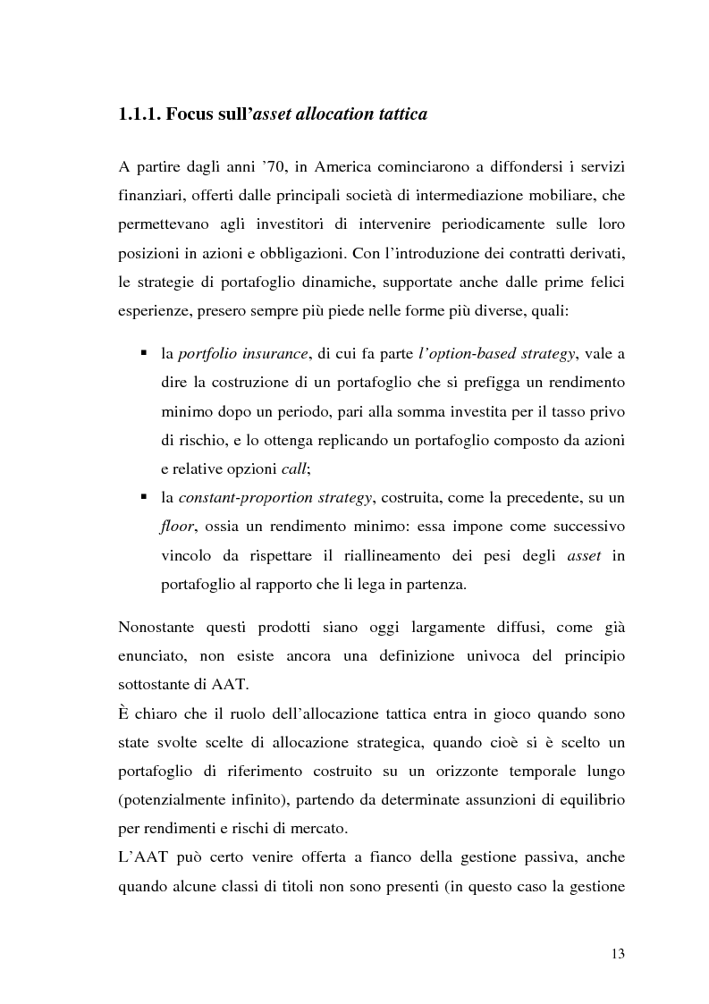 Anteprima della tesi: Il modello di Black & Litterman nel processo di ottimizzazione di portafoglio, Pagina 6