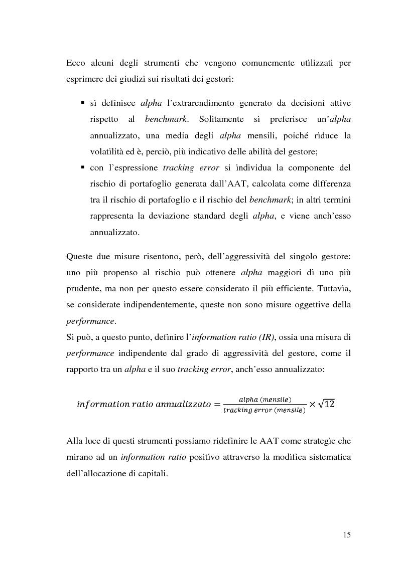 Anteprima della tesi: Il modello di Black & Litterman nel processo di ottimizzazione di portafoglio, Pagina 8