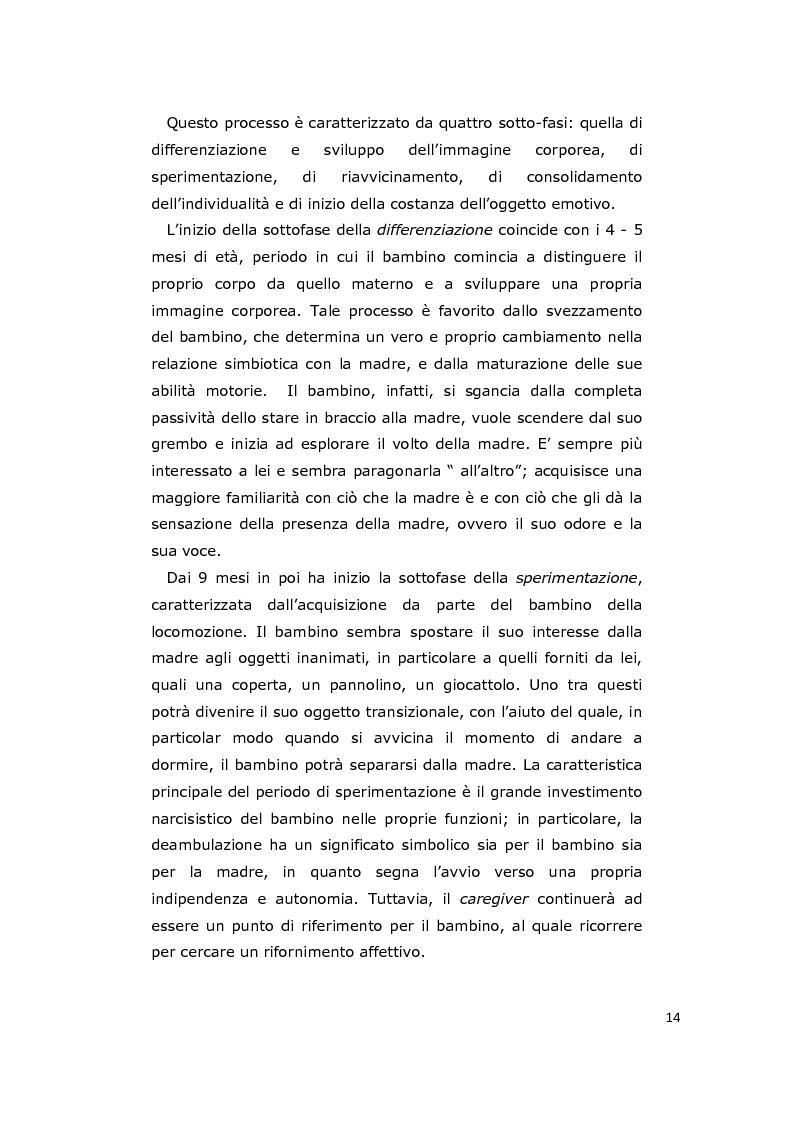 Anteprima della tesi: La consulenza pedagogica all'asilo nido come lettura dei processi e mediazione tra i partners educativi, Pagina 11