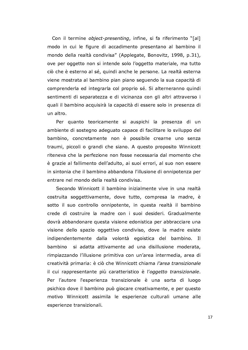 Anteprima della tesi: La consulenza pedagogica all'asilo nido come lettura dei processi e mediazione tra i partners educativi, Pagina 14