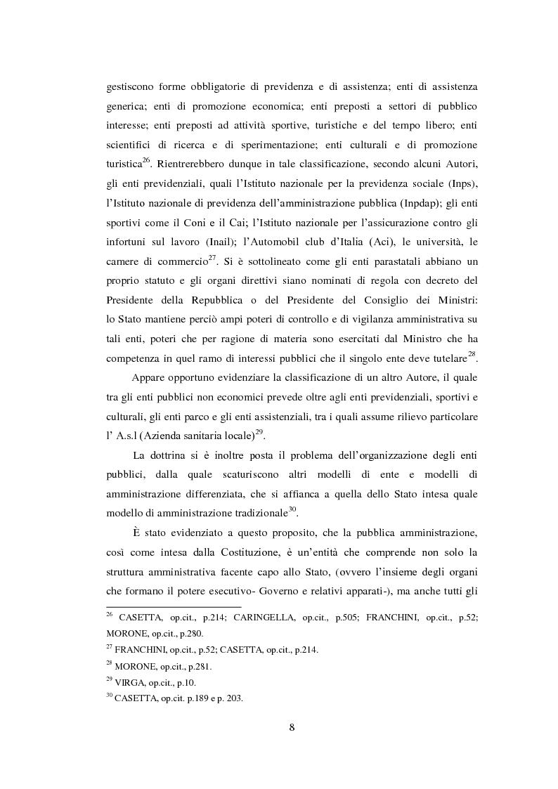 Anteprima della tesi: L'assicurazione della responsabilità civile di enti pubblici e aziende sanitarie, Pagina 9