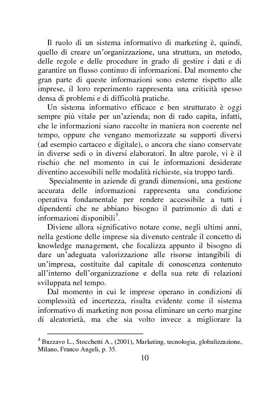 Anteprima della tesi: Ricerche di Marketing su Internet: fonti e attendibilità, Pagina 5