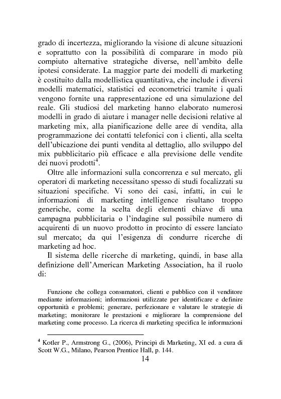 Anteprima della tesi: Ricerche di Marketing su Internet: fonti e attendibilità, Pagina 9