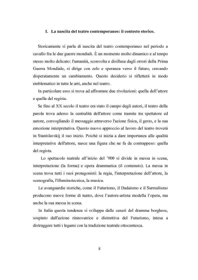 Anteprima della tesi: La lingua del teatro civile - analisi dei testi di Marco Paolini, Pagina 5
