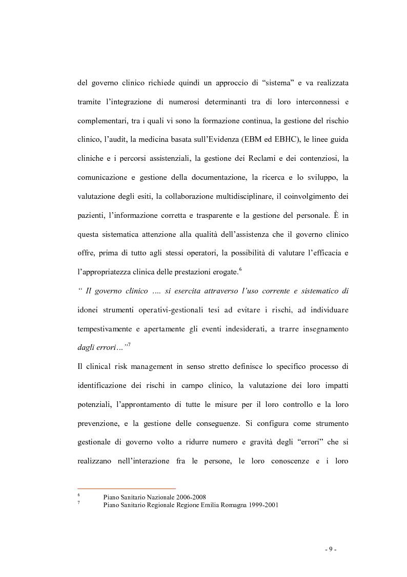 Anteprima della tesi: Indagine di incidenza sulle polmoniti associate a ventilazione assistita nell'ambito del programma di gestione del rischio clinico dell'Azienda Ospedaliera di Pesaro, Pagina 7