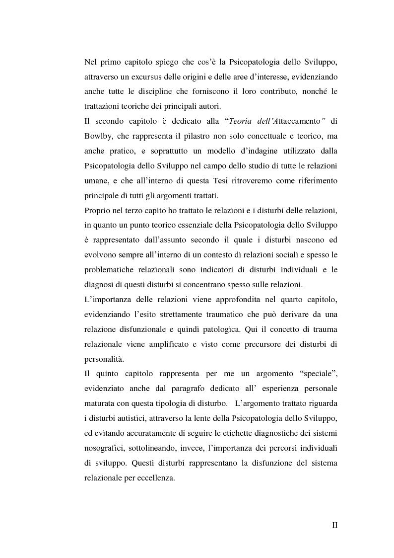 """Anteprima della tesi: Origini storiche e prospettive nell'ambito della """"developmental psychopathology"""", Pagina 3"""