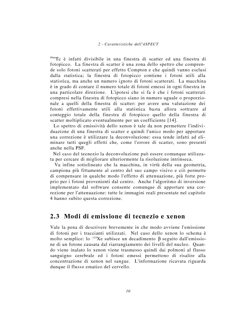 Anteprima della tesi: Metodi multimodali per il miglioramento della risoluzione di immagini SPECT, Pagina 10