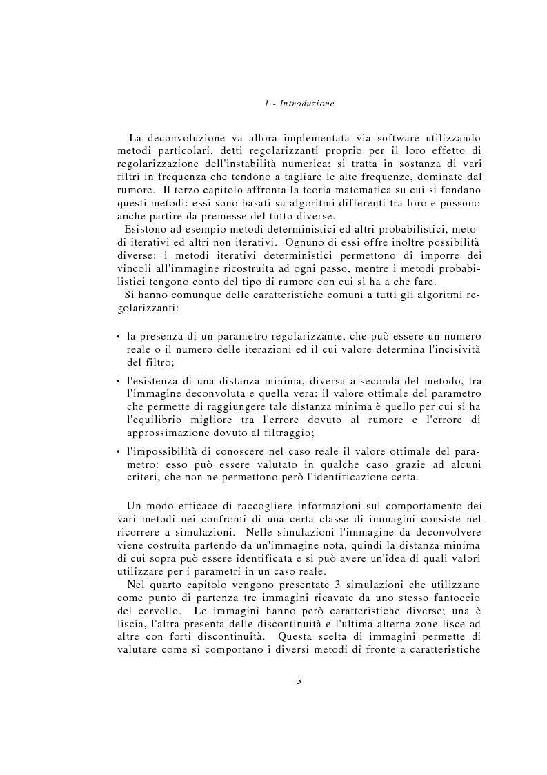 Anteprima della tesi: Metodi multimodali per il miglioramento della risoluzione di immagini SPECT, Pagina 3