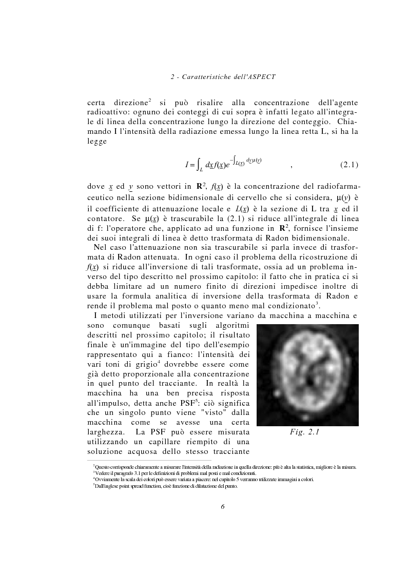 Anteprima della tesi: Metodi multimodali per il miglioramento della risoluzione di immagini SPECT, Pagina 6