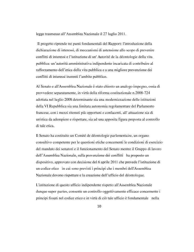 Anteprima della tesi: L'etica parlamentare: tendenze a confronto., Pagina 6