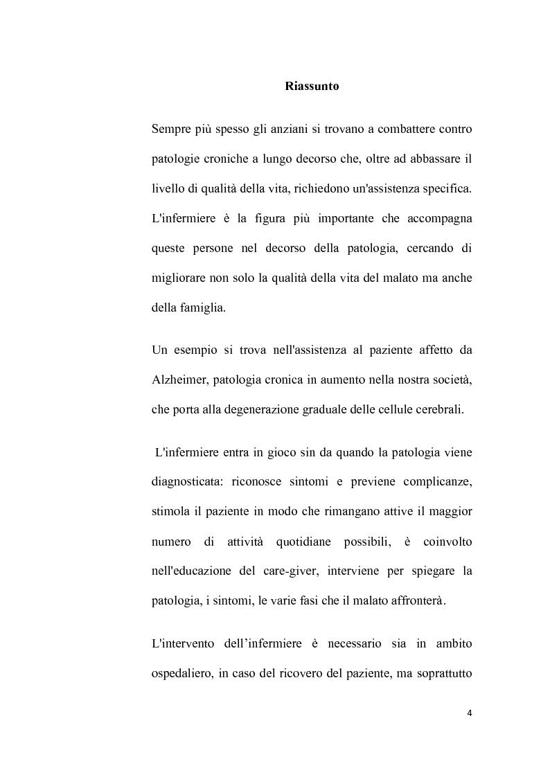 Anteprima della tesi: Assistenza infermieristica alla persona affetta da Alzheimer: l'importanza del trattamento del dolore per dare dignità alla vita, Pagina 2