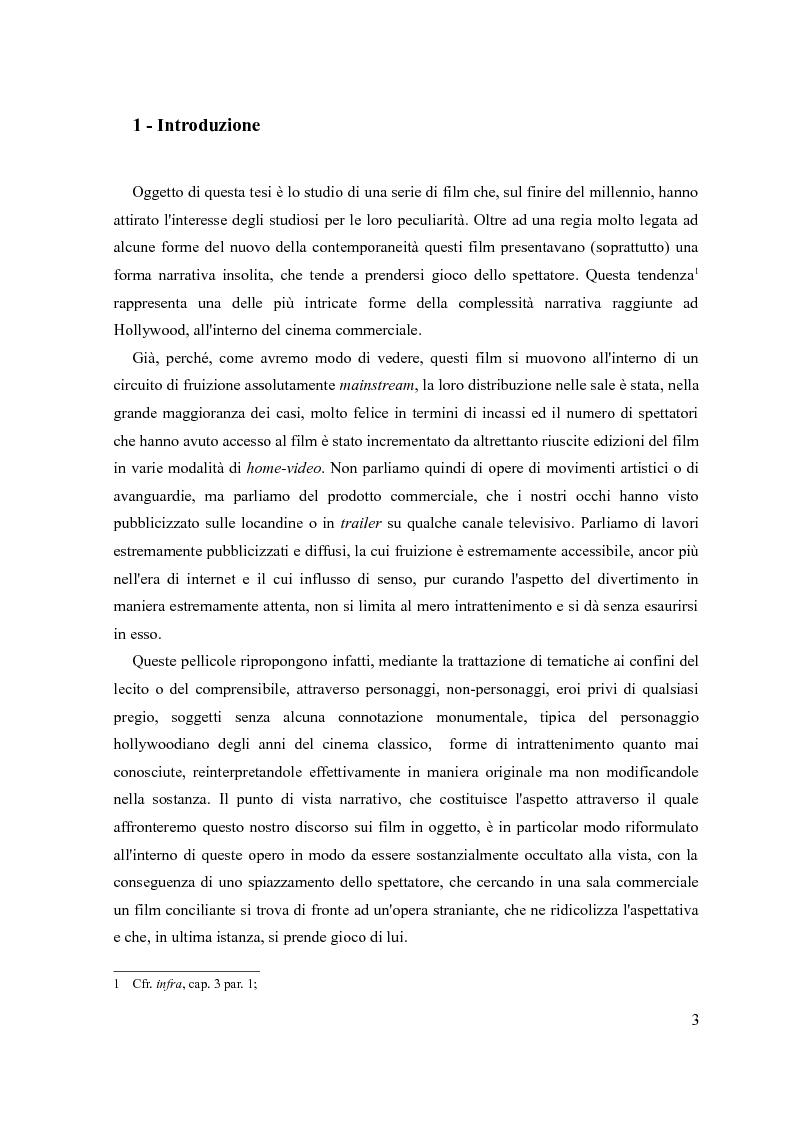 Anteprima della tesi: Mind-game film e forme della complessità, Pagina 2