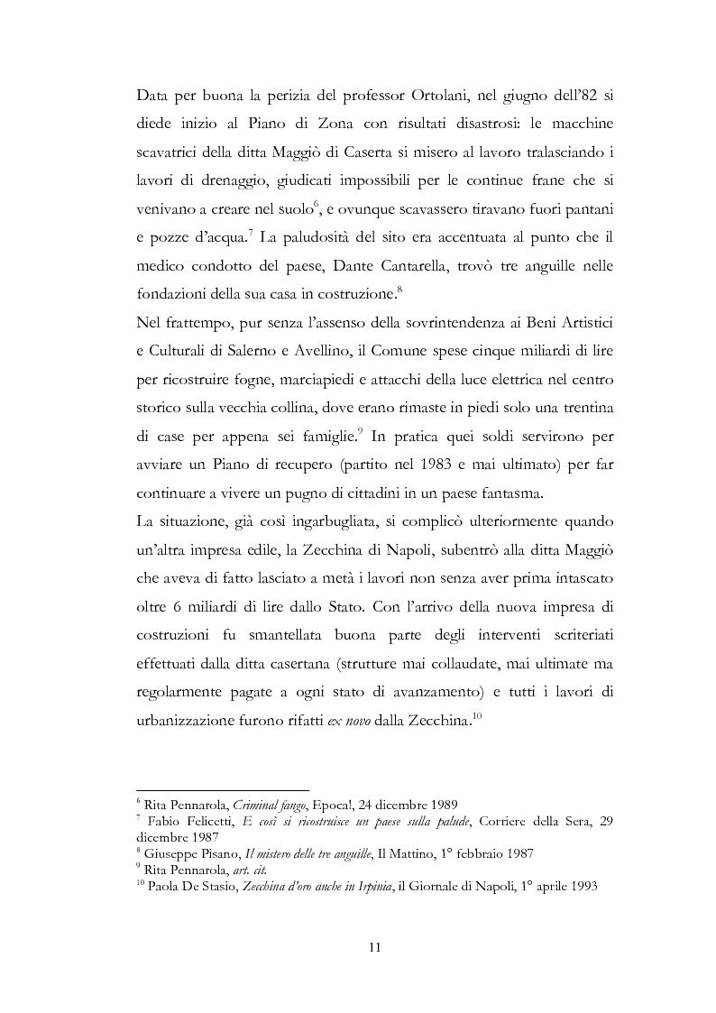 Anteprima della tesi: Irpinia Anno Zero. Come il terremoto del 1980 ha cambiato l'economia del territorio negli ultimi trent'anni, Pagina 8