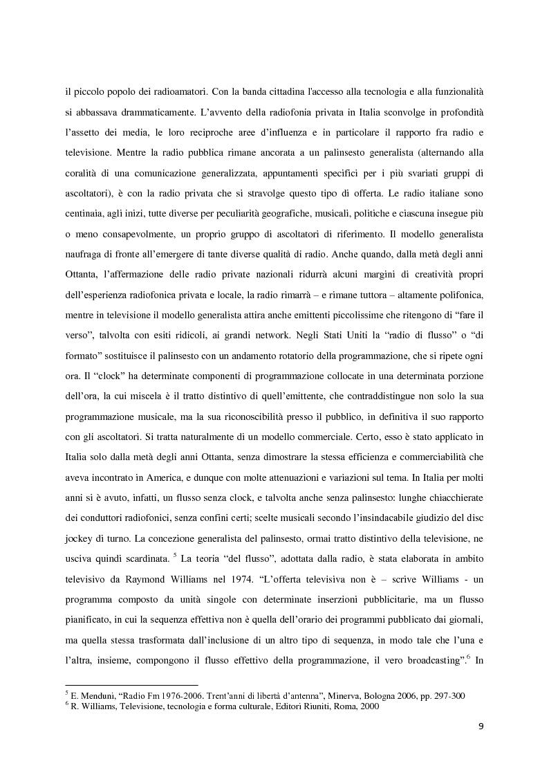 Anteprima della tesi: L'avventura di RT90. La voce intangibile di un popolo nel panorama radiofonico degli anni '90, Pagina 5