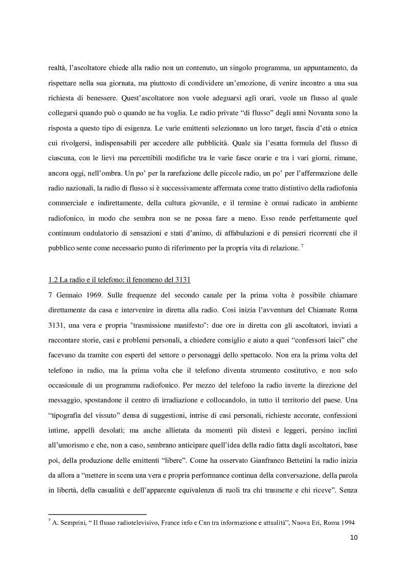 Anteprima della tesi: L'avventura di RT90. La voce intangibile di un popolo nel panorama radiofonico degli anni '90, Pagina 6